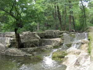 Waterfall in Balcones Park