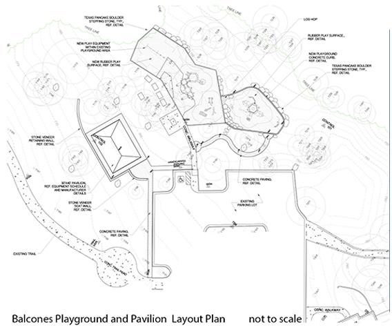 pavilion layout